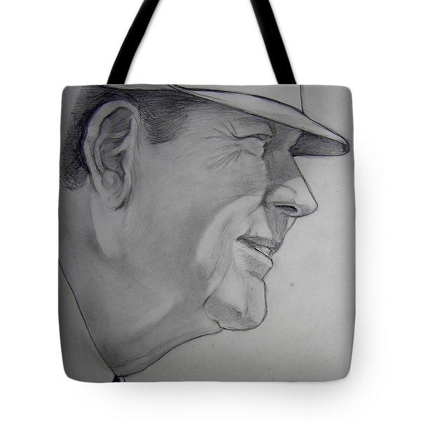 Bear Bryant Tote Bag by Nigel Wynter