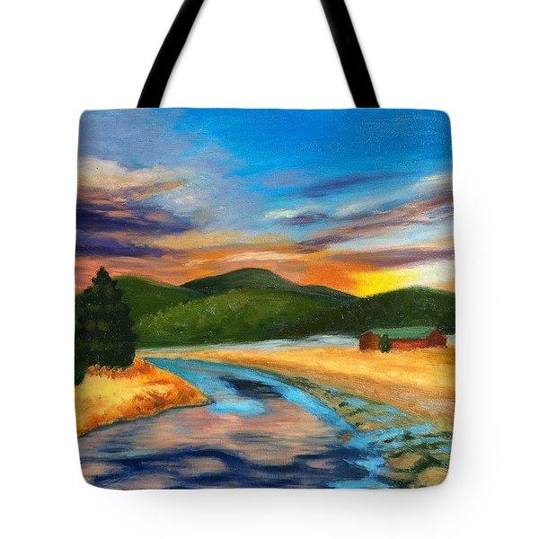 Bear Creek Colorado Tote Bag
