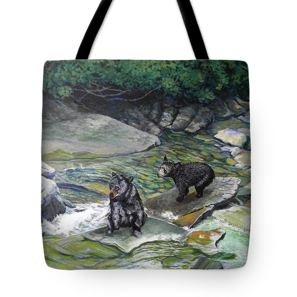 Bear Creek Tote Bag