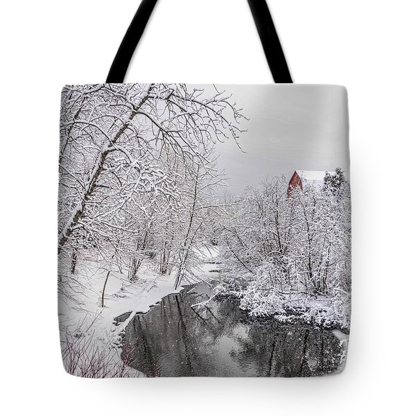 Silver Creek Tote Bag