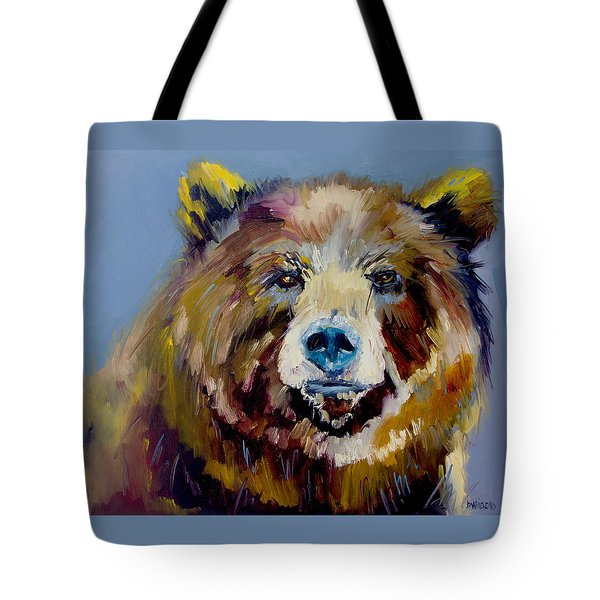 Bear Exposed Tote Bag