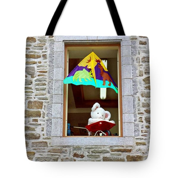 Tote Bag featuring the photograph Bear Formally Known As Teddy by John Schneider