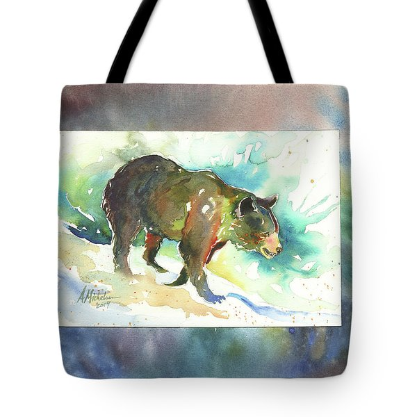 Bear I Tote Bag