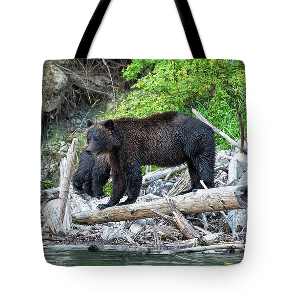 In The Great Bear Rainforest Tote Bag