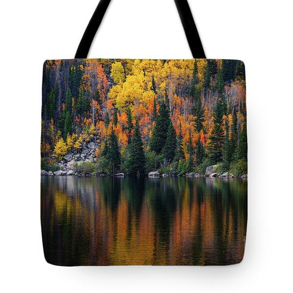 Bear Lake Autumn Tote Bag