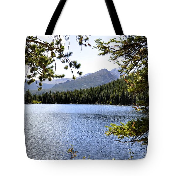 Tote Bag featuring the photograph Bear Lake Rmnp by Nava Thompson