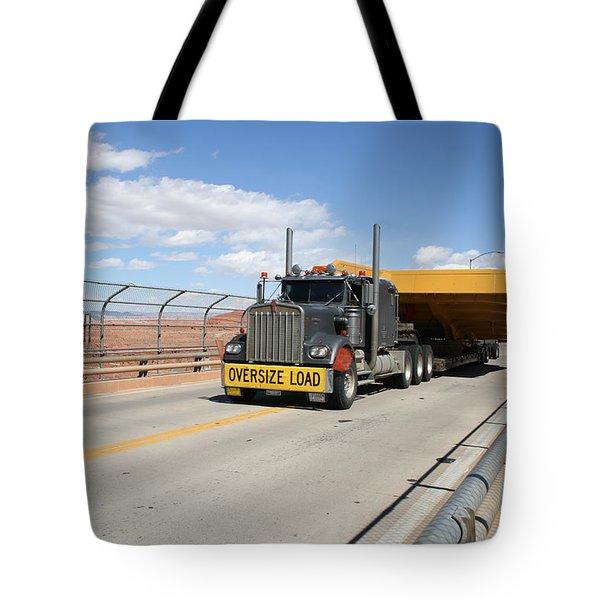 Bear Load Tote Bag