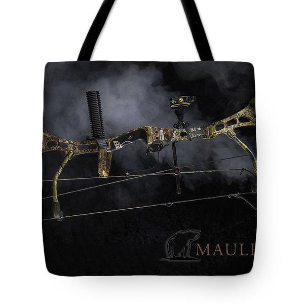 Tote Bag featuring the photograph Bear Mauler by Tim Nichols