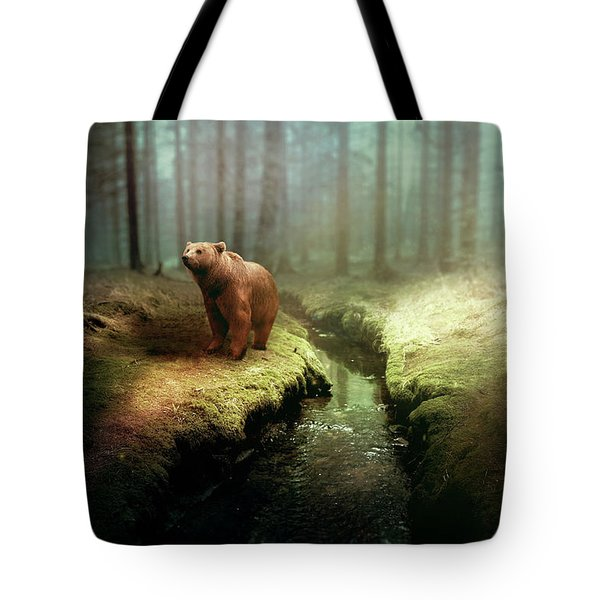 Bear Mountain Fantasy Tote Bag