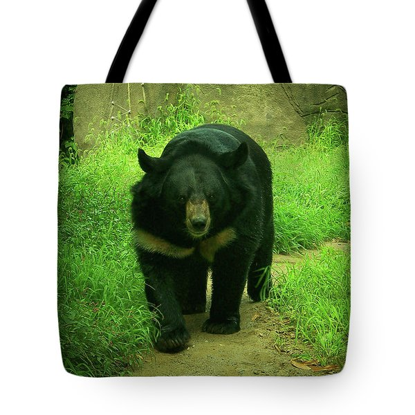 Bear On The Prowl Tote Bag