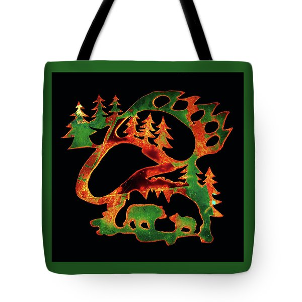 Irish Bears Tote Bag