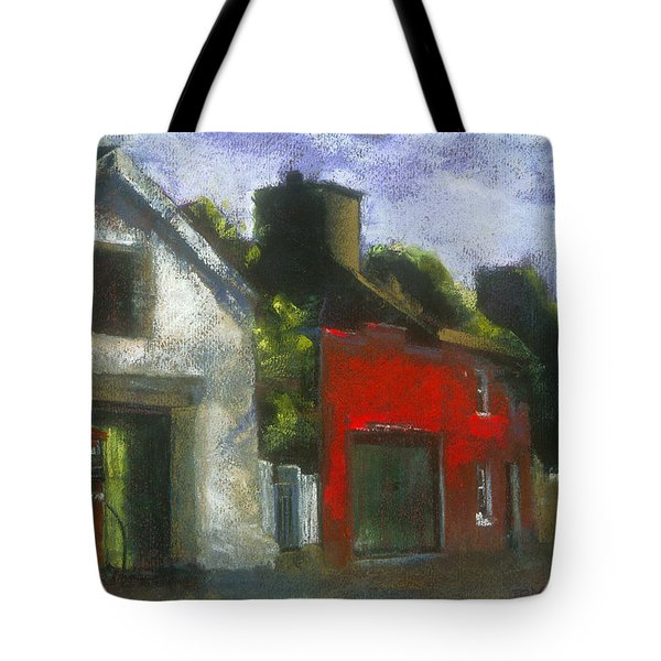 Tote Bag featuring the painting Bear Way by Julie Maas