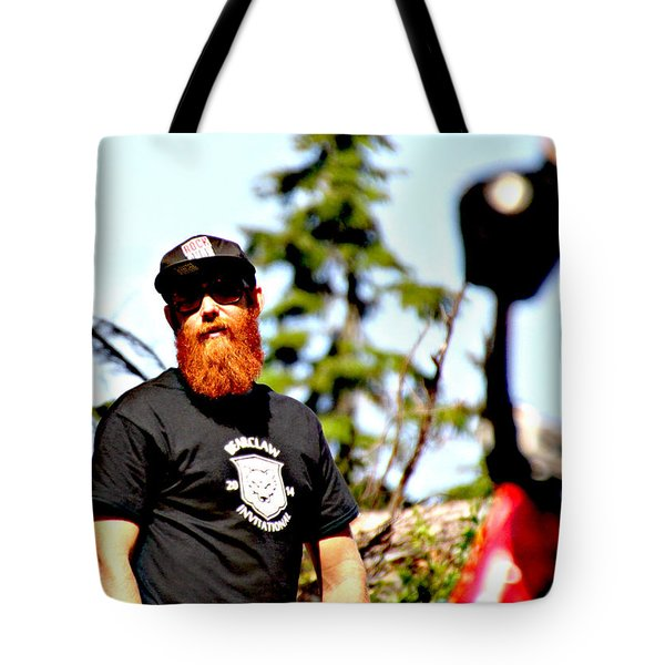 Bearclaw Fire Tote Bag