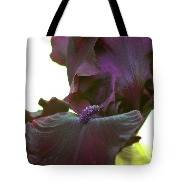 Tote Bag featuring the photograph Bearded Beauty by Deborah  Crew-Johnson