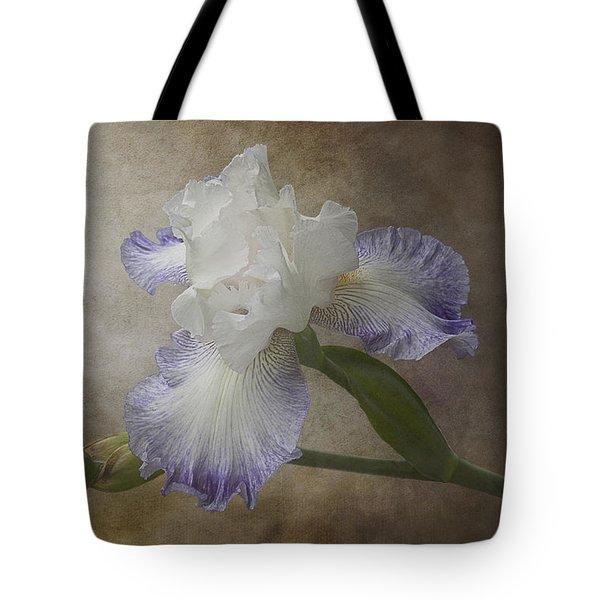 Bearded Iris 'gnuz Spread' Tote Bag