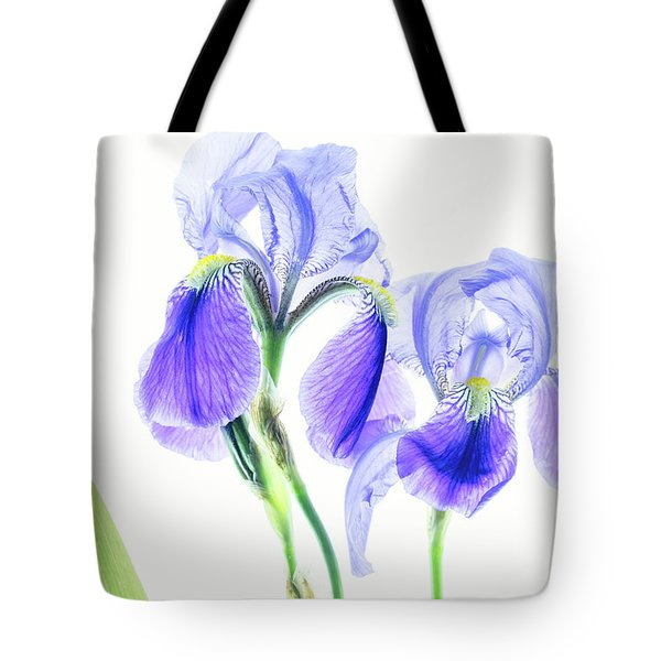 Bearded Iris Tote Bag