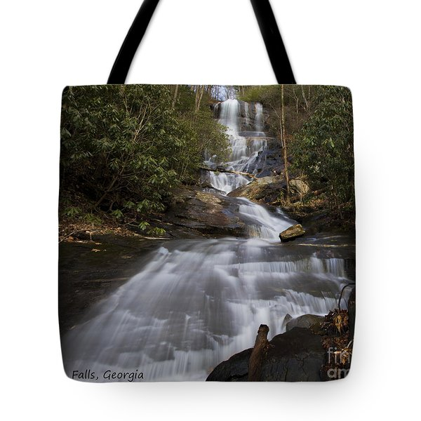 Tote Bag featuring the photograph Bearden Falls by Barbara Bowen