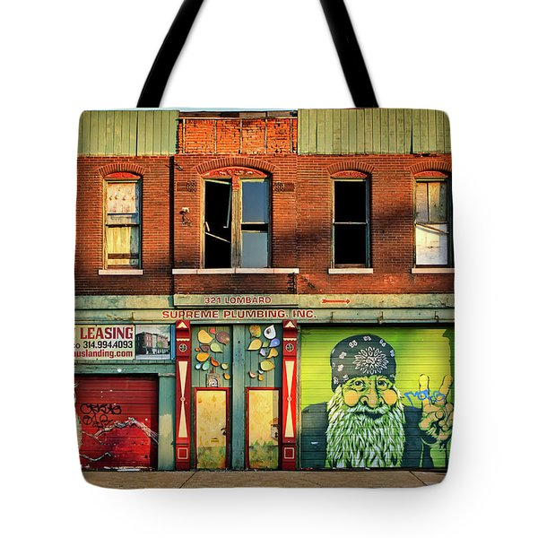 Beardy Mcgreen Tote Bag