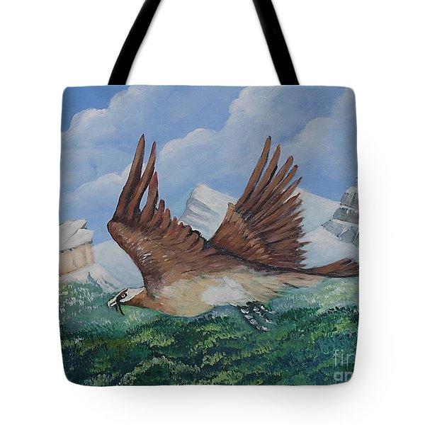 Beared Gypaete Tote Bag