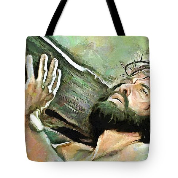 Bearing The Cross Tote Bag