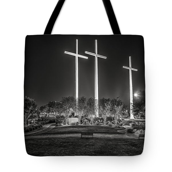 Bearing Witness In Black-and-white 2 Tote Bag