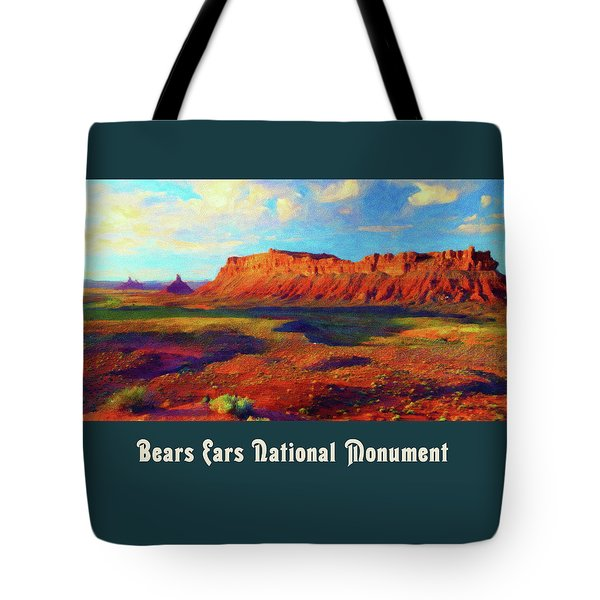 Bears Ears National Monument Tote Bag
