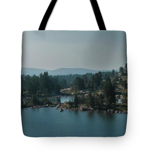 Beartooth Pond At 10,000 Feet Tote Bag