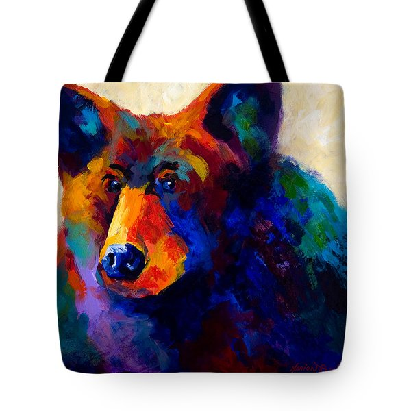 Beary Nice - Black Bear Tote Bag