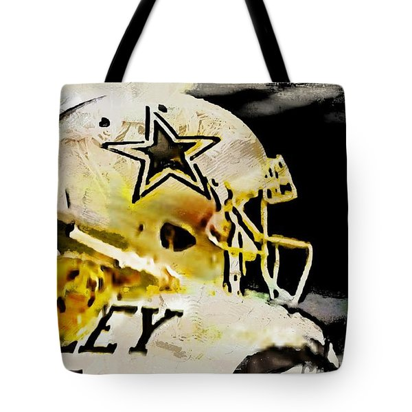 Tote Bag featuring the digital art Beasley The Great by Carrie OBrien Sibley