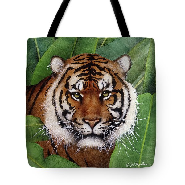 Tote Bag featuring the painting beast of Burma... by Will Bullas