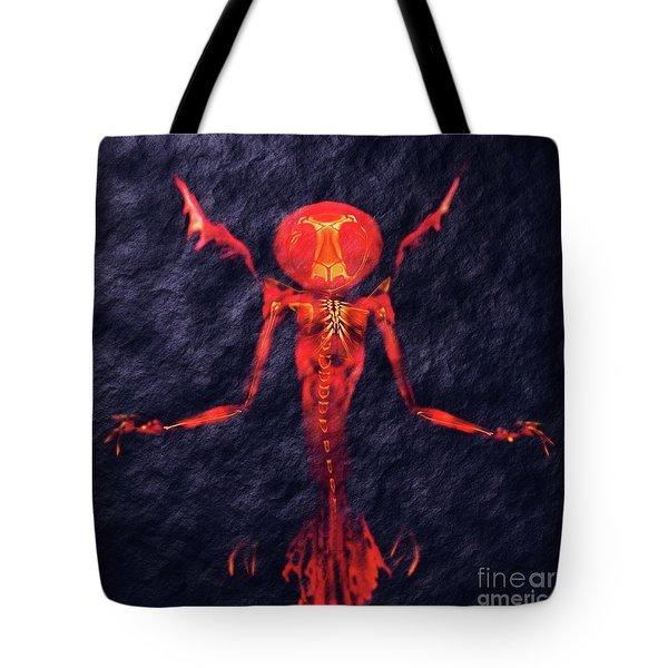 Beast Of Hell By Sarah Kirk Tote Bag