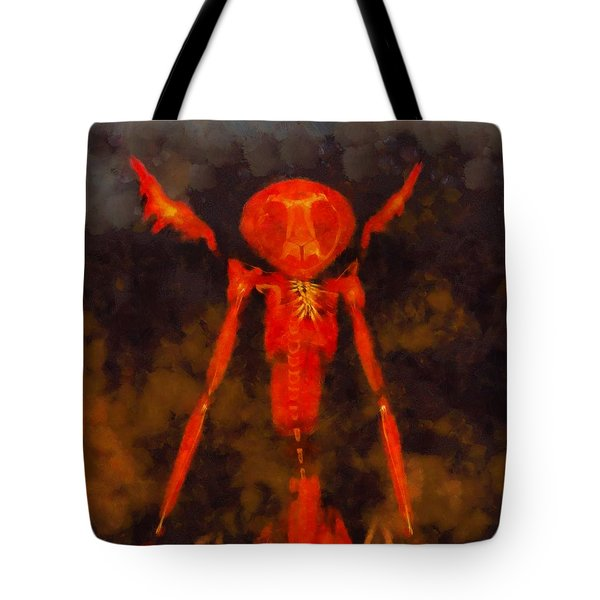 Beast Of Hell Tote Bag