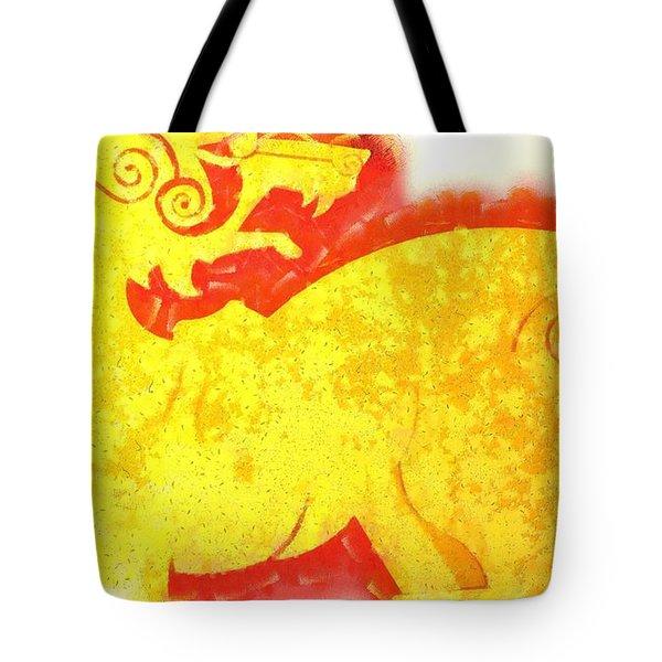 Beast Of Mythology Tote Bag