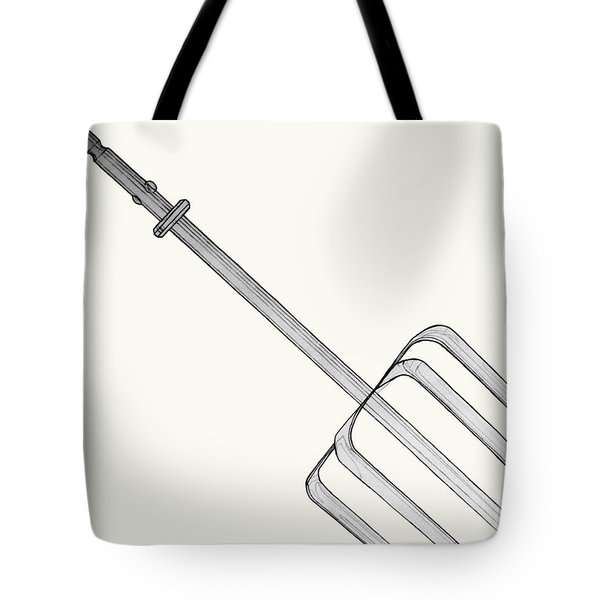 Beat It Tote Bag by Jean Haynes