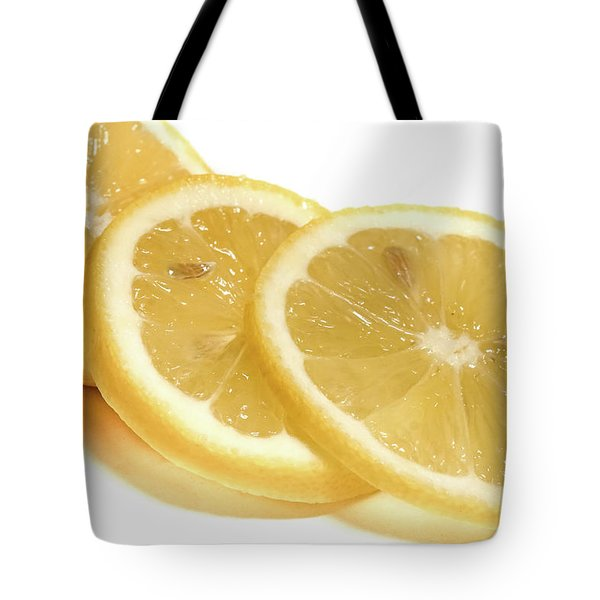 Beat The Heat With Refreshing Fruit Tote Bag by Nick Mares