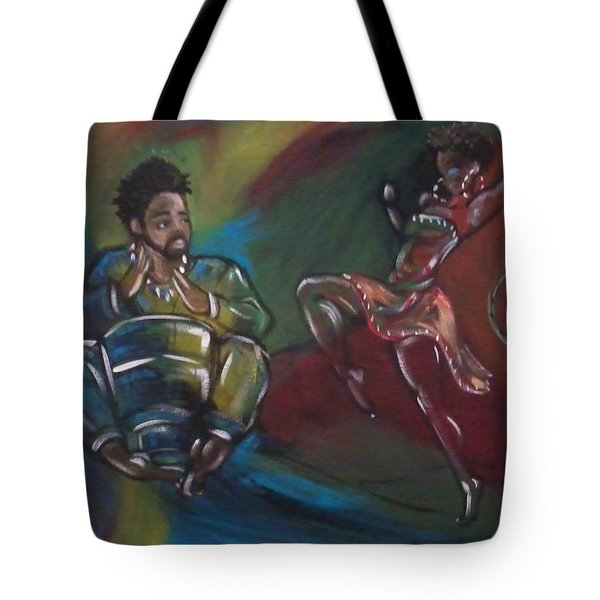 Beat To A Different Drum Tote Bag by Jenny Pickens