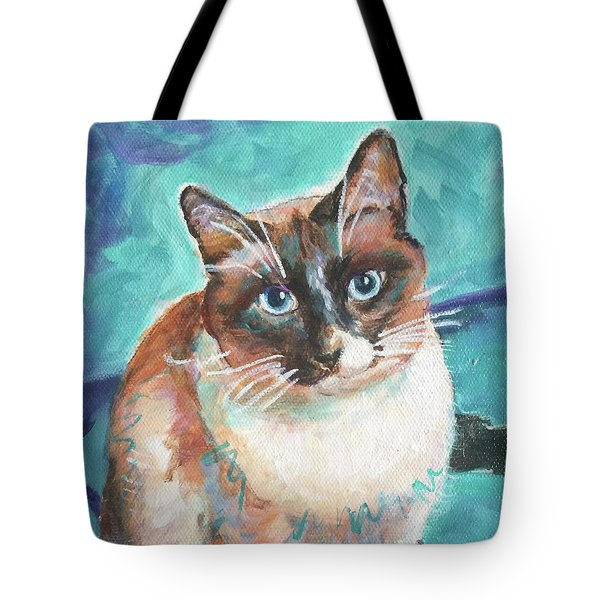 Beau Kitty Tote Bag