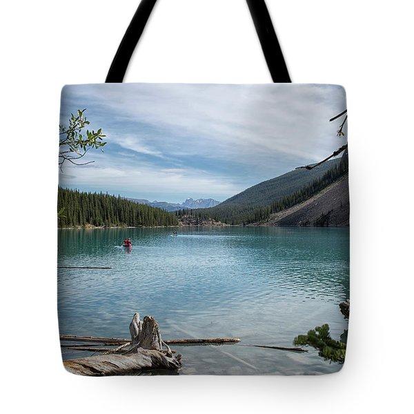 Beauiful Lake Maligne Tote Bag by Patricia Hofmeester