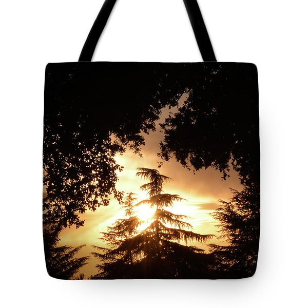 Beaumont Sunset Tote Bag