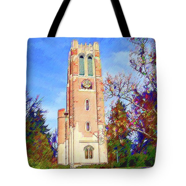 Beaumont Tower Tote Bag