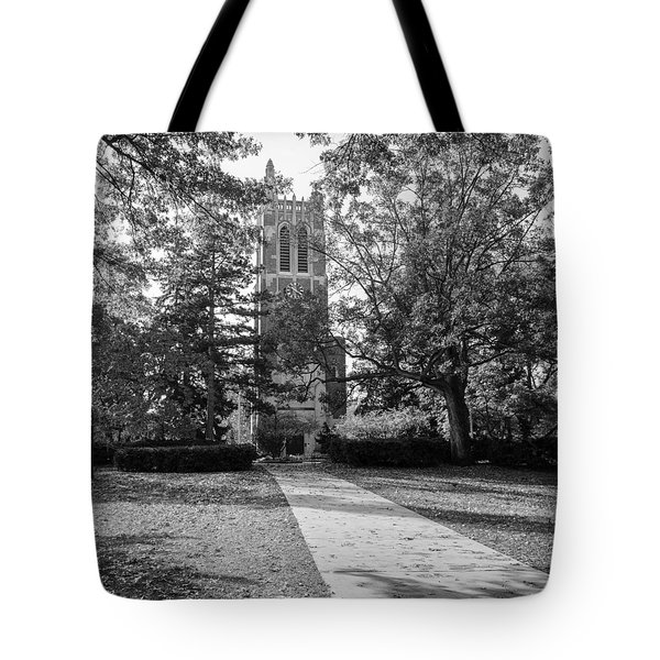 Tote Bag featuring the photograph Beaumont Tower by Larry Carr