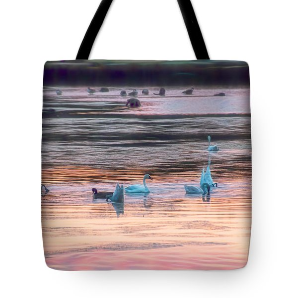 Beauties And The Geese Tote Bag