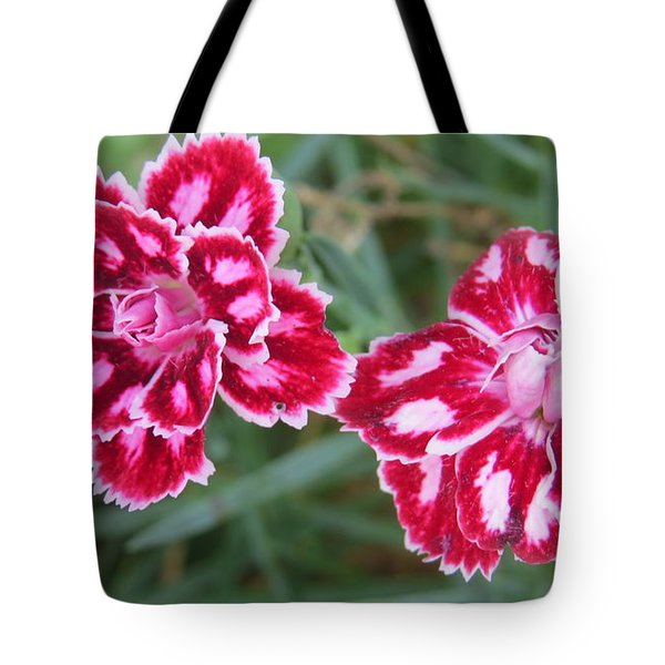 Tote Bag featuring the photograph Beauties In My Garden by Jeanette Oberholtzer