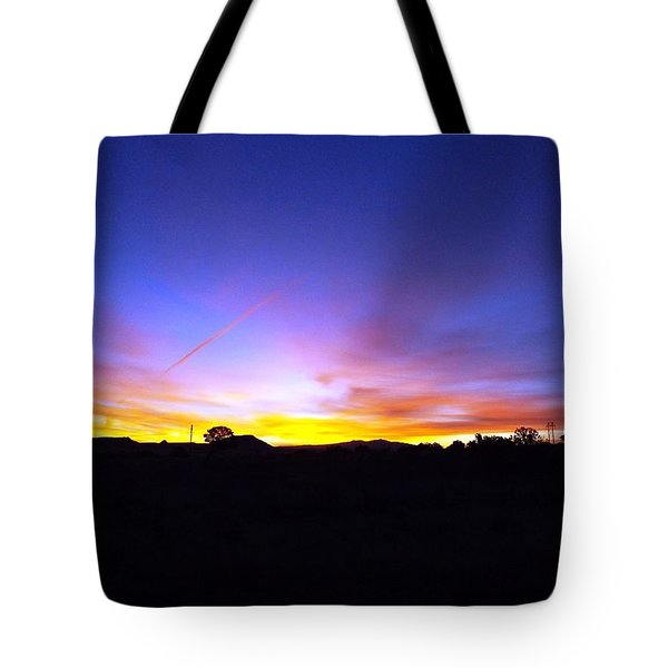 Beautifil Blue Tote Bag by Adam Cornelison