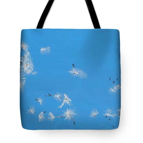 Tote Bag featuring the painting Beautiful At This Moment.... by Betty-Anne McDonald