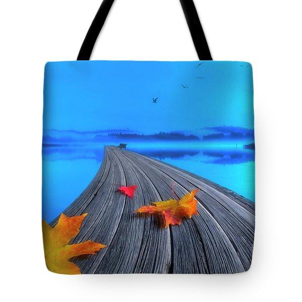 Beautiful Autumn Morning Tote Bag