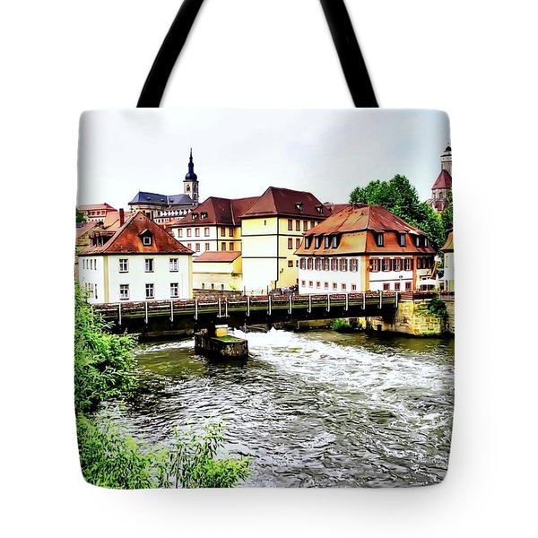 Beautiful Bamberg On The River Tote Bag by Kirsten Giving