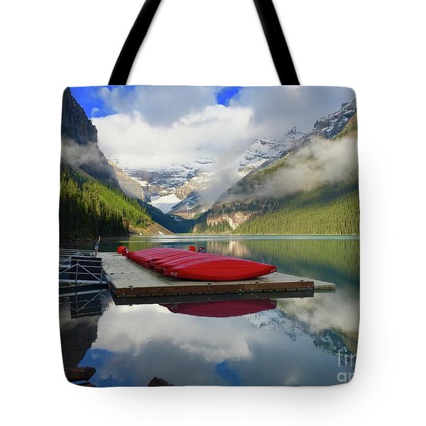 Beautiful Banff Tote Bag