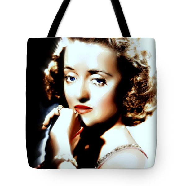 Beautiful Bette Tote Bag by Wbk