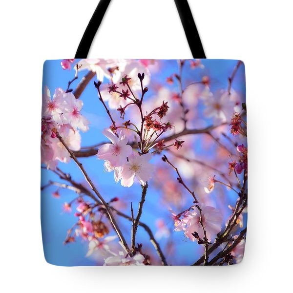 Beautiful Blossoms Blooming  For Spring In Georgia Tote Bag